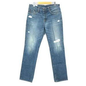 A&F classic straight jeans 32x34